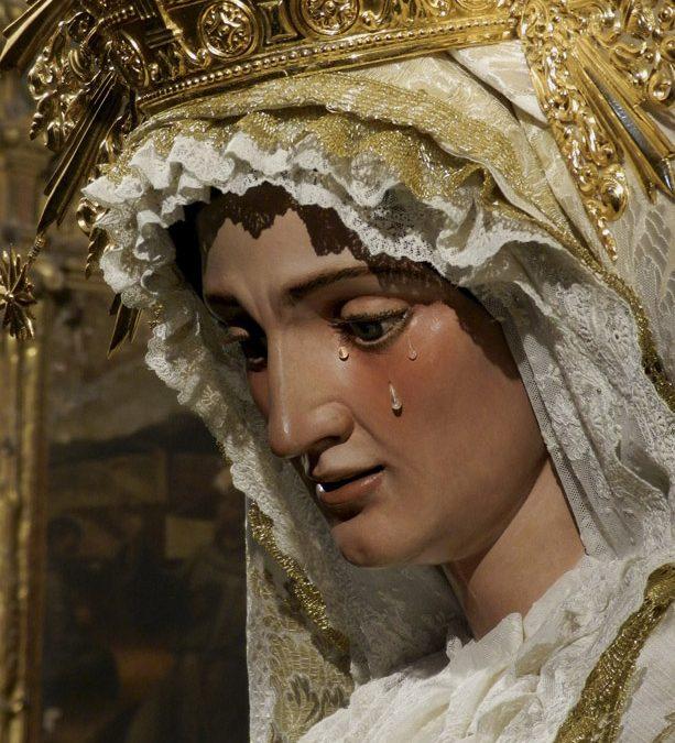 Cultos a María Santísima de Gracia y Esperanza.