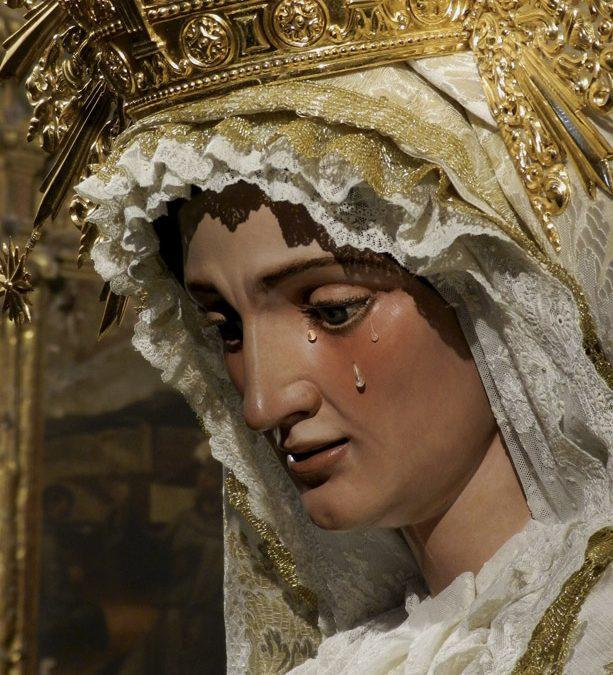 Convocatoria cultos a María Santísima de Gracia y Esperanza.