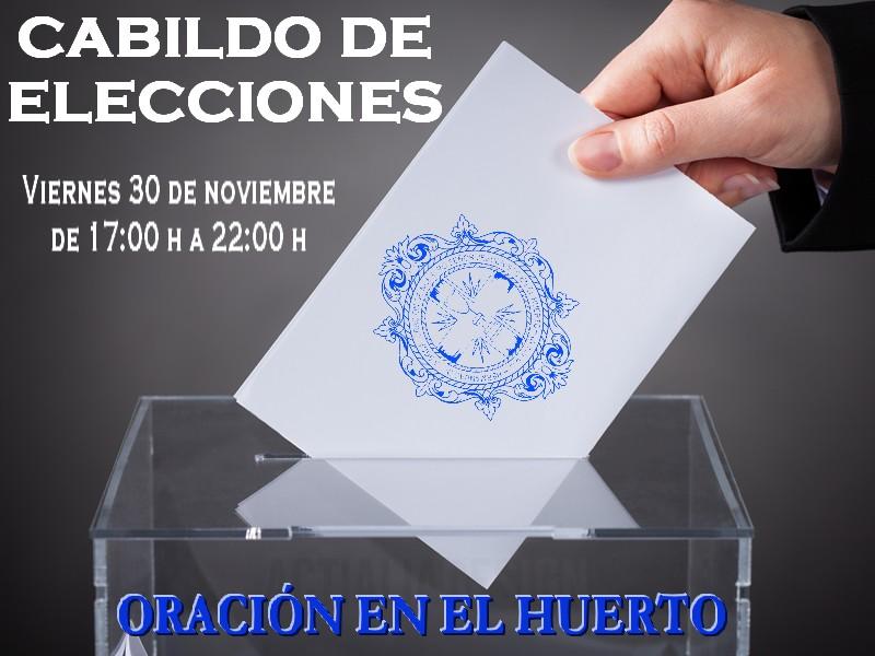 Elecciones a Hermano Mayor.