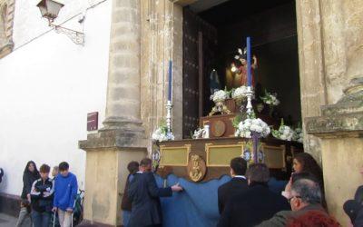 Horario e itinerario de la procesión del Niño Jesús de Praga.