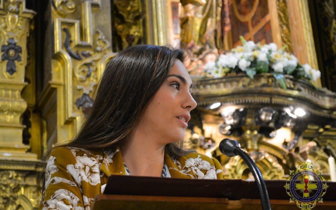 Delia Prieto pregonó la Semana Juvenil.