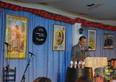 Pregón de la Feria de Primavera y Fiestas del Vino Fino Caseta Helo-Libo 2.019