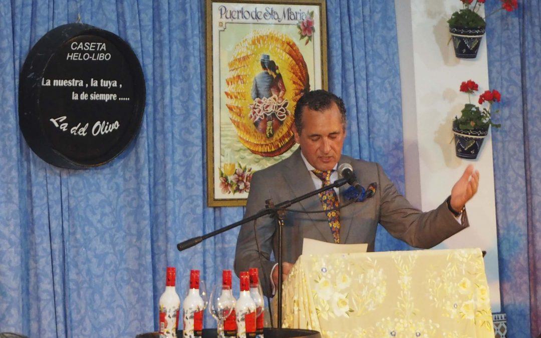 Pregón Caseta Helo-Libo Francisco Dueñas Crespo.