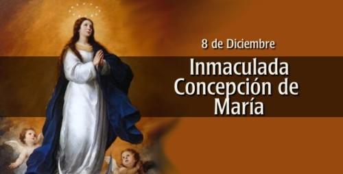 ¡Feliz Solemnidad de la Inmaculada Concepción!