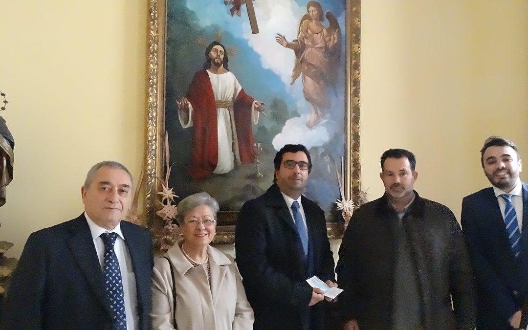 Donativo a Cáritas parroquial
