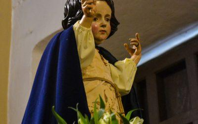 Festividad del Niño Jesús de Praga.