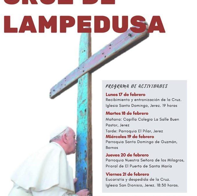 La Cruz de Lampedusa en la Basílica de Nuestra Señora de los Milagros.