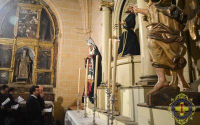 Visita del Pregonero de la Semana Santa.