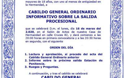 Convocatorias Cabildos.