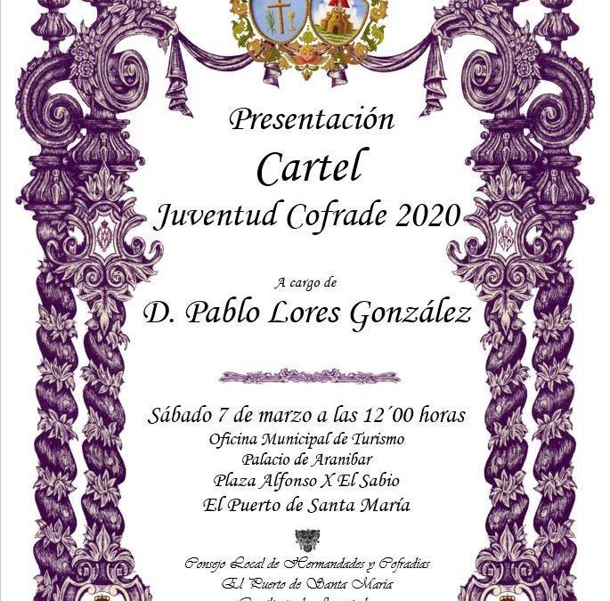 Presentación del cartel de la Juventud Cofrade 2.020.