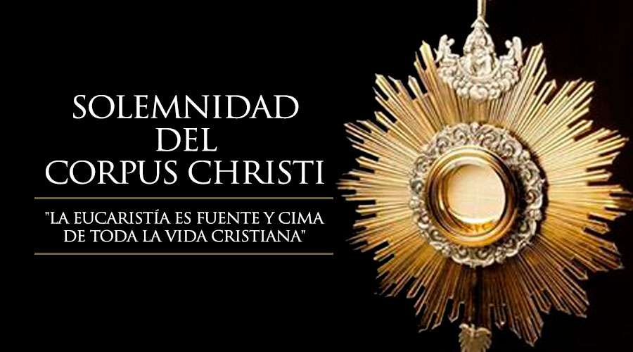 Festividad del Corpus Christi.