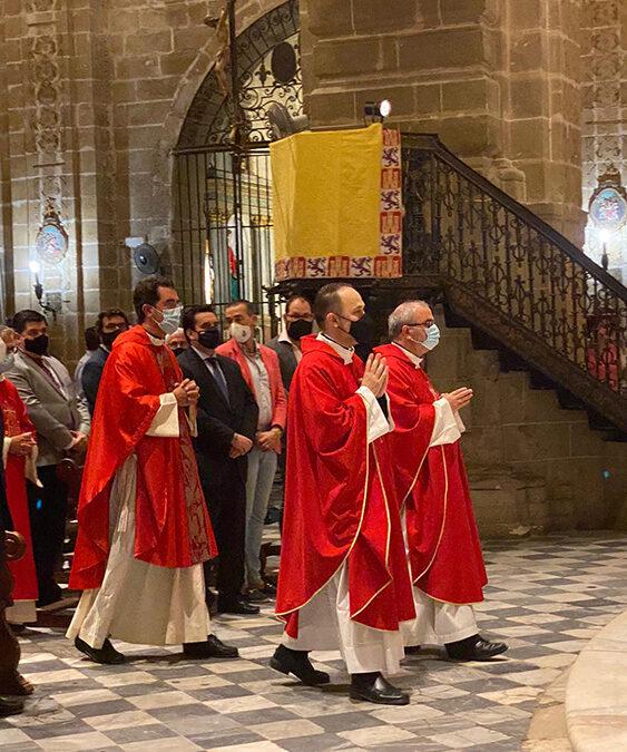 Toma de posesión de Sabido como párroco de la Basílica.