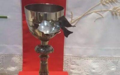 El Cáliz profanado en Irak estará hoy en la Basílica.