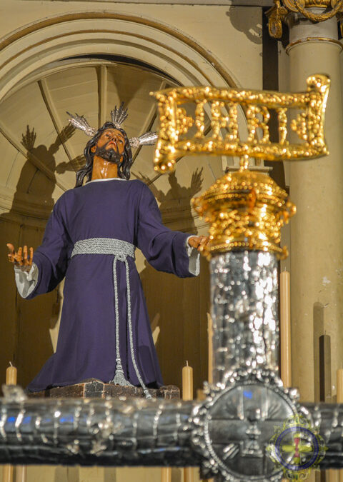 Horario de apertura del altar en la Semana de Pasión.