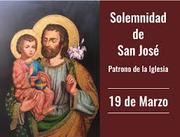 Solemnidad de San José.